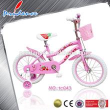 Rose couleur vélos filles bmx vélos avec panier