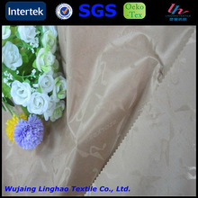 PA coating custom jacquard custom drapery lining fabric