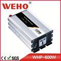 Nueva salida de fábrica 600w 12v a 110v de onda sinusoidal pura potencia del inversor& convertidor