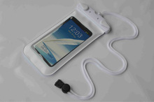 Inflated TPU waterproof phone case for samsung galaxy s4
