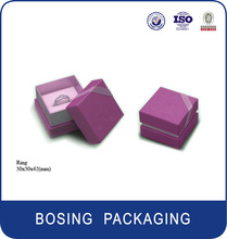 2014 hot sale popular paper jewelry packaging box
