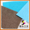 De policarbonato esteras del piso para sillas de oficina, hoja sólida del policarbonato