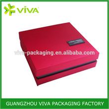 Factory Custom Luxury handmade cardboard gift boxes with lid
