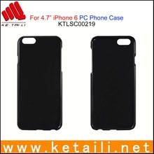 """For 4.7"""" iPhone 6 Plastic Mobile Phone Case with UV Oil Coating"""
