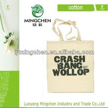 2014 New Style 100% Cotton Custom Logo Shoulder Tote Bag Cotton Bag