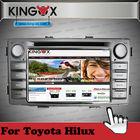 Kingox car dvd 7inch HD TFT screen toyota navi android 4.2 with 3G WIFI 1080P IPOD DVD DVB-T