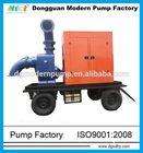 Diesel powered self priming pump