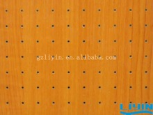 Wooden Perforated Acoustic Panel Office Soft Board Decorations