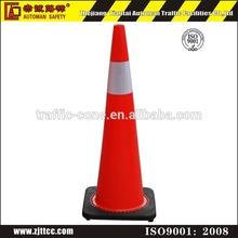 "flexible soft PVC road 36"" traffic cone"