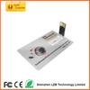 Promotional Custom Credit Card USB 2.0 with free Sample OEM usb flash drive customized