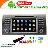 BM-739GDA support 7 inch touch screen with DVR rearview camera cheap car dvd player for BMW E39