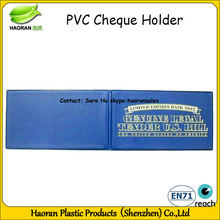 Proffessional leather cheque book cover