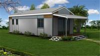 earth-friendly prefabricated houses in ghana