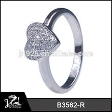 Cheap cz diamond ring for girls simple fashion designs rings