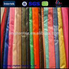 190T /water resistant fabric /100% polyester taffeta/210t taffeta/190t taffeta