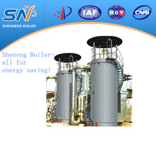 industrial natural gas fired vertical heat transfer fluid boiler made in China 2 million Kcal/h