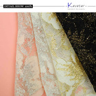 2014 Fashion african organza lace fabric