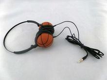 colorful design basketball shape headphone for children headphone