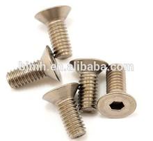 torx drive titanium flat screw