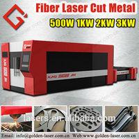 6mm Carbon Steel/Stainless Steel/Aluminum Metal Laser Cutter Fiber Machine