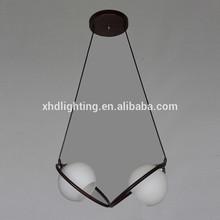 Cross ring lighting LED pendant lamp