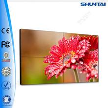 كامل hd بوصة 46 55 1080p الحافة الضيقة جدا لوحة سامسونج led 2x2 3x3 4x4 بلاسما جدار الشاشة