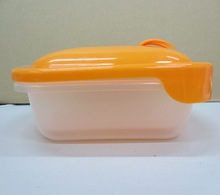 Fashionable professional plastic lunch box container