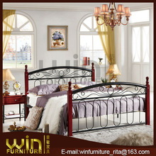 indian woood double bed designs DB-0263