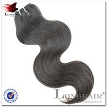Trangle free 100% 5a+ grade machine make hair extension
