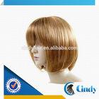 malaysian silk straight wave cheap short medium honey blonde remy hair lace wig