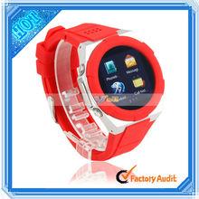 1.54 inch Red Waterproof Smart Watch Cellphone
