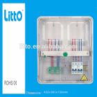 transparent case three phase energy meter box IP54 Electronic meter box