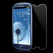 Anti-scratch high quality tempered glass screen protector for samsung s3