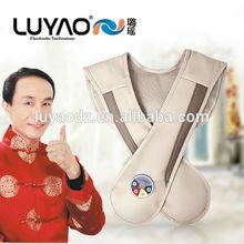 2014 new stock smart vibrating travel neck massage pillow LY-803S