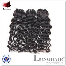 Pretty Lady human hair weaves of brazilian hair