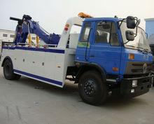 dongfeng 6 wheels under lift wrecker tow truck 180HP