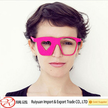 2014 Newest design novelty felt glasses for party toy