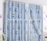 very cheap kids cartoon curtains printed fabrics