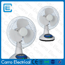 Long life time battery car operated rechargeable fan