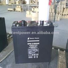 Model OP-G made in china 24v 200ah battery lead acid battery