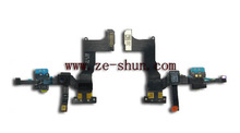 cell phone flex ribbon for iphone 5c sensor with front camera complete
