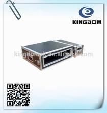 Custom shockproof aluminum 2u flight case hardware for audio equipment