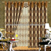 2014 china wholesale ready made curtain,ready made curtains for living room royal style jacquard curtain