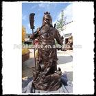 casting bronze chinese god statue