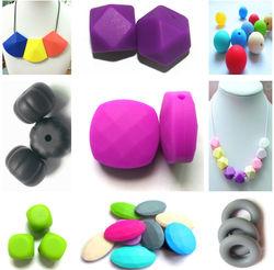 custom pendant&heart pendant&loose silicone bead pendant
