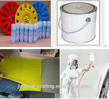 Multipurpose Matt White Aerosol Removable Car Spray Paint for protection