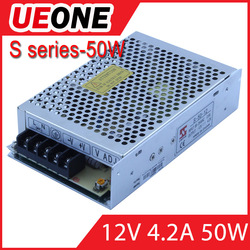 New type 50w power supply 12v 50w switching power supply s-50-12