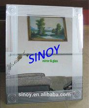 China top quality art mirror wall art mirror adjustable art mirror