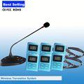 Venda de fábrica!! Profissional simultânea mesa de conferência microfone