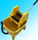 hommization cofortable handle with steel winger mop bucket trolley